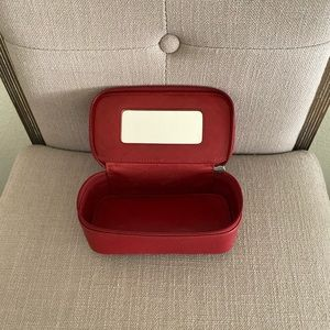 Coach Vintage Red Leather Case